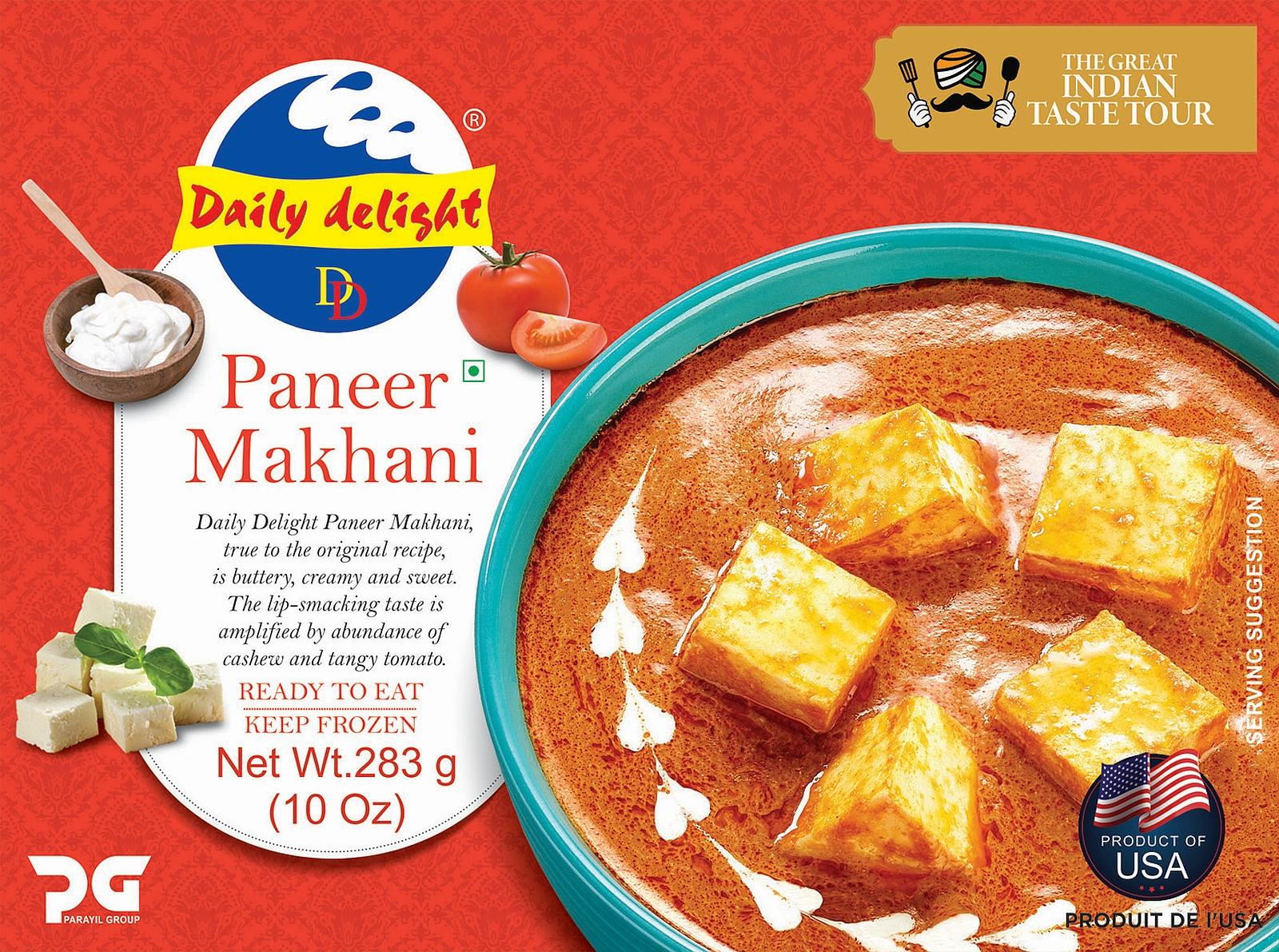 Daily Delight Paneer Makhani