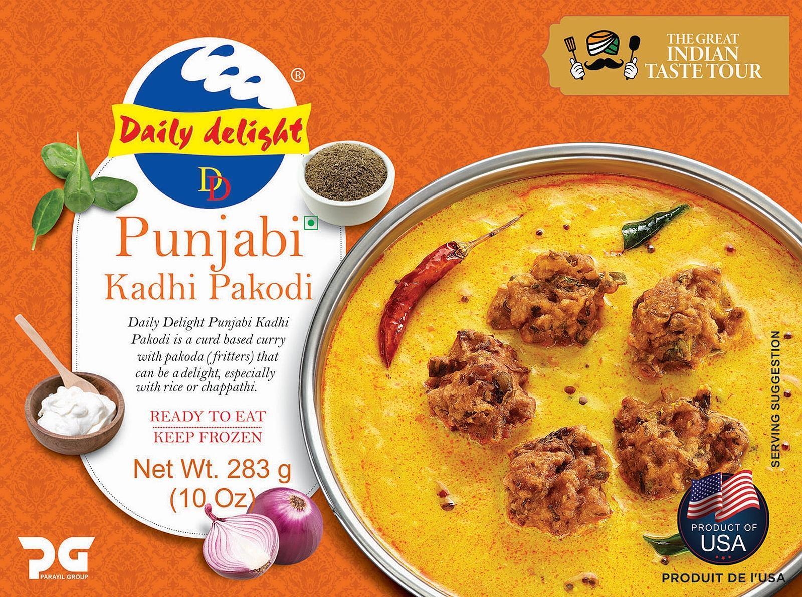 Daily Delight Punjabi Kadhi Pakodi