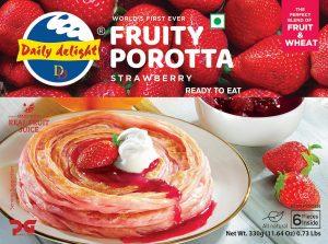 Daily Delight Strawberry Porotta