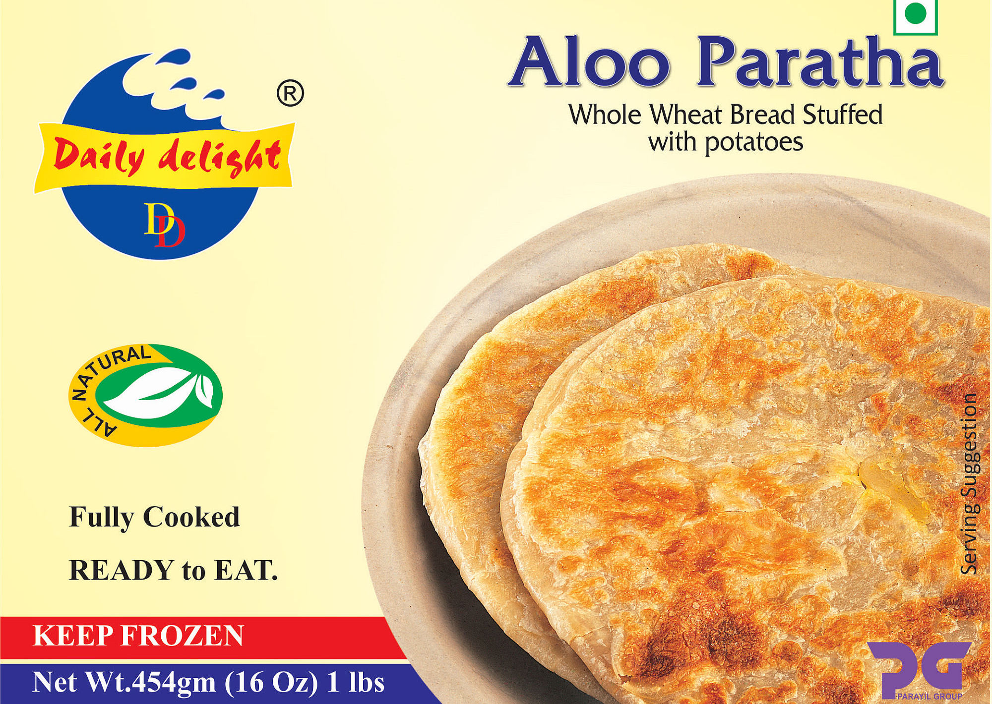 Daily Delight Aloo Paratha