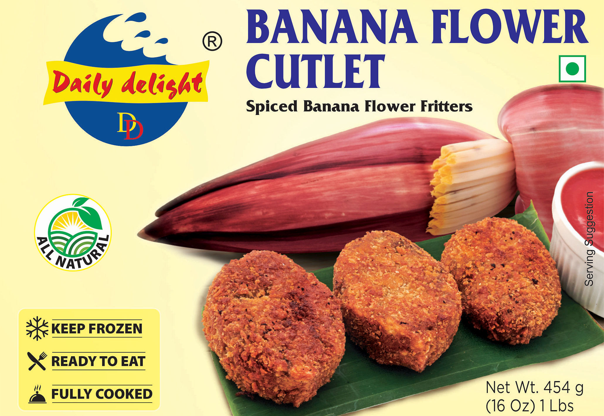 Daily Delight Banana Flower Cutlet
