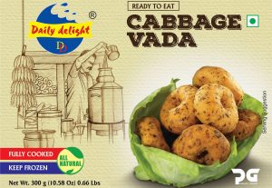 Daily Delight Cabbage Vada