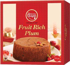 Daily Delight Fruit Rich Plum Cake