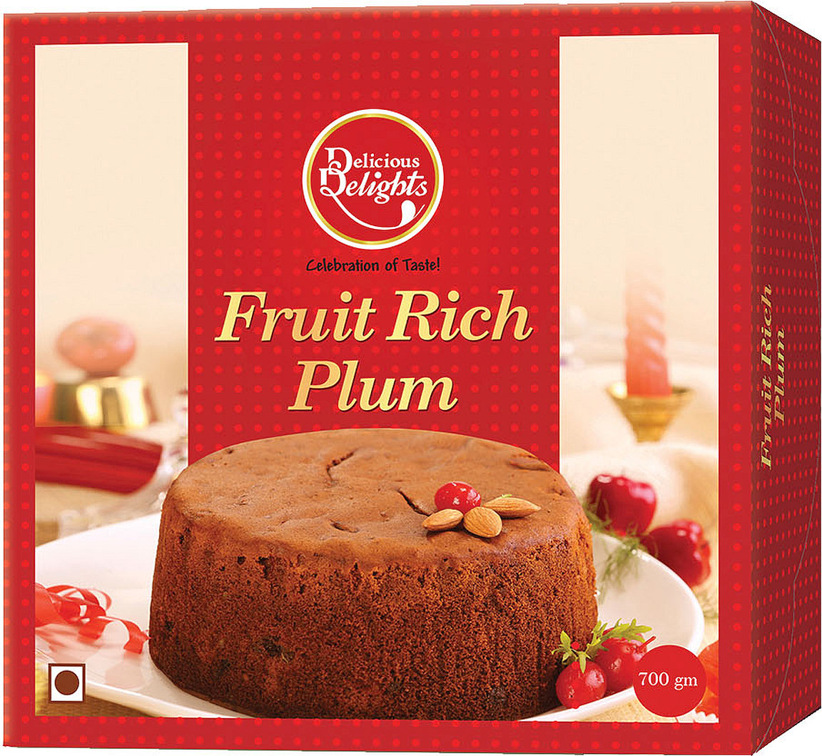 Daily Delight Fruit Rich Plum Cake