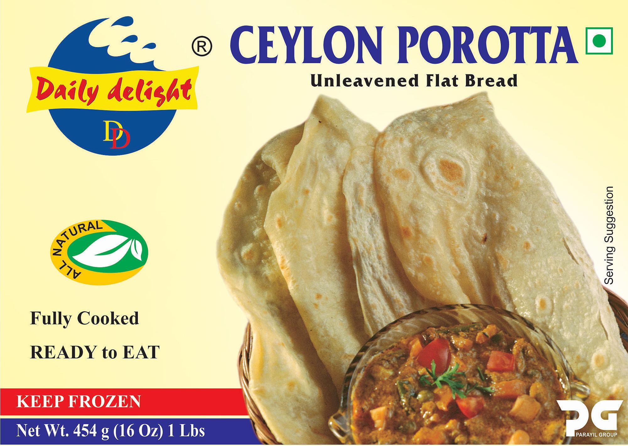 Daily Delight Ceylon Porotta