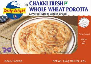 Daily Delight Chakki Fresh Whole Wheat Porotta