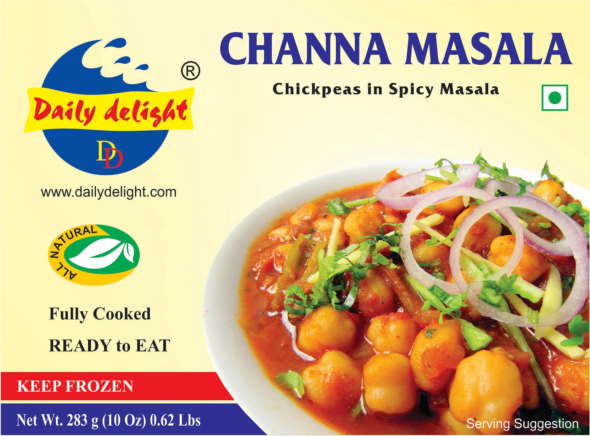 Daily Delight Channa Masala