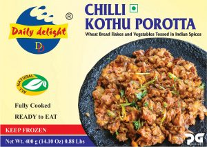 Daily Delight Chilli Kothu Porotta