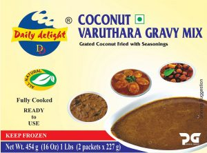 Daily Delight Coconut Varuthara Gravy Mix