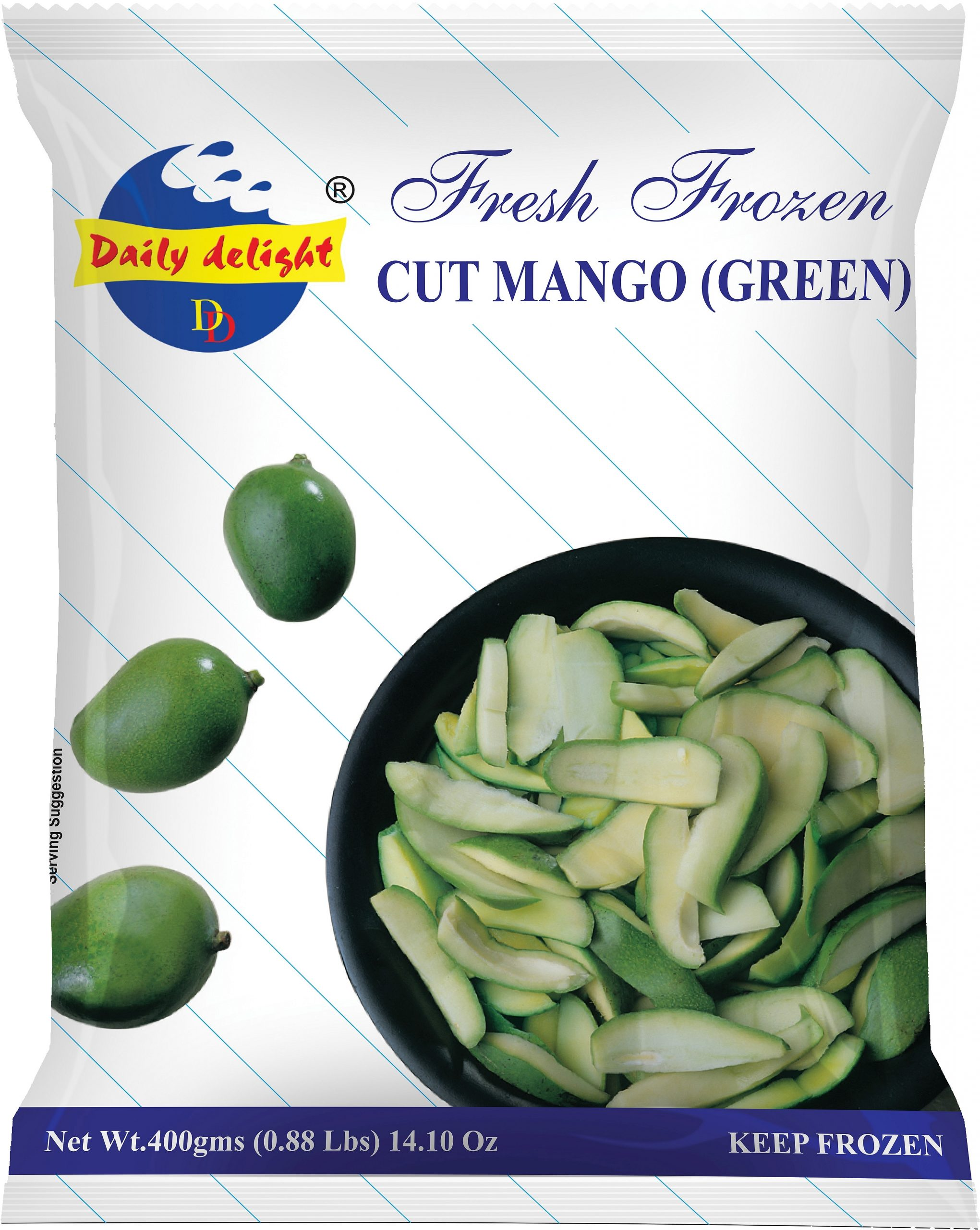 Daily Delight Cut Mango Green