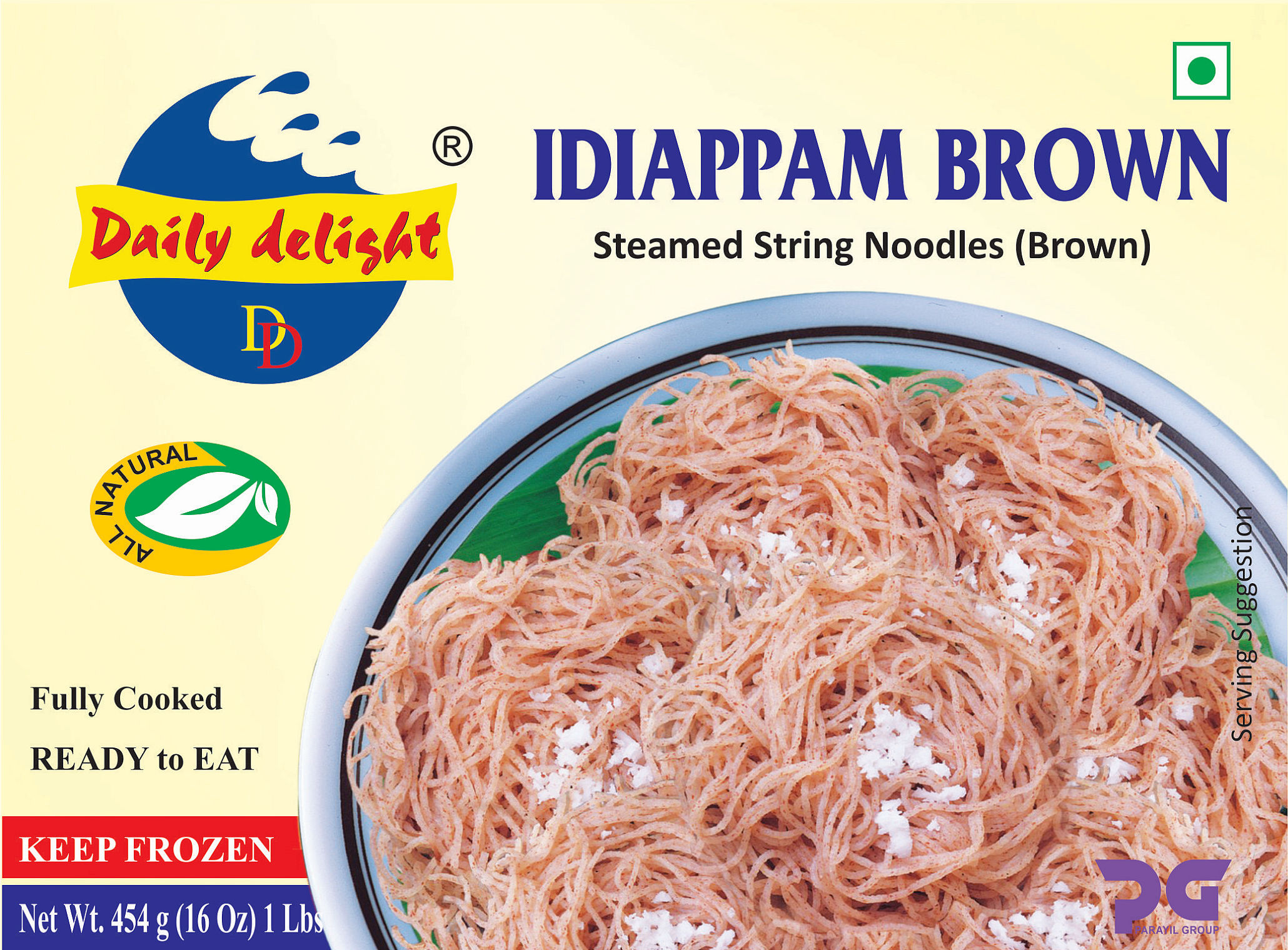 Daily Delight Idiappam Brown