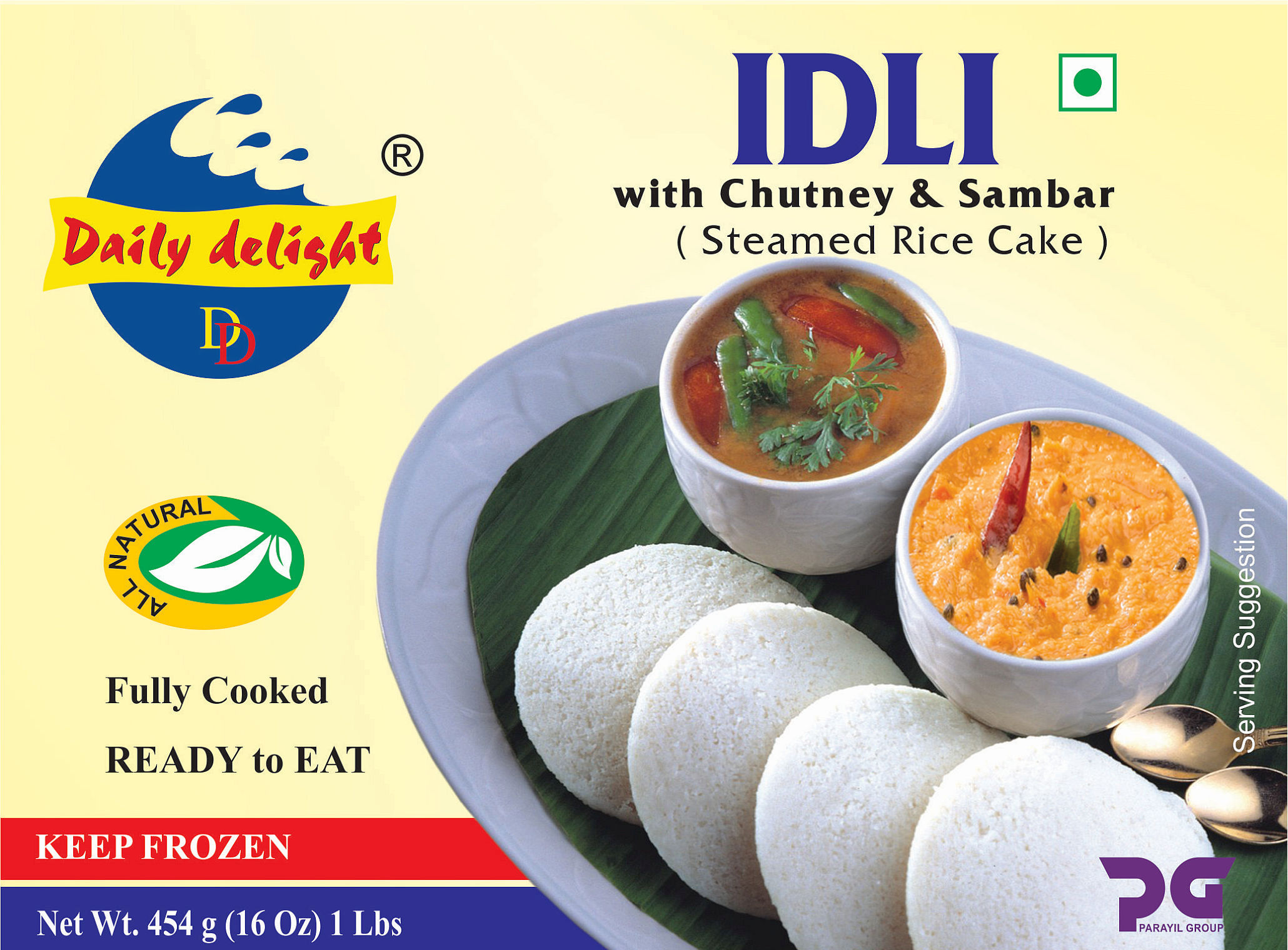Daily Delight Idli