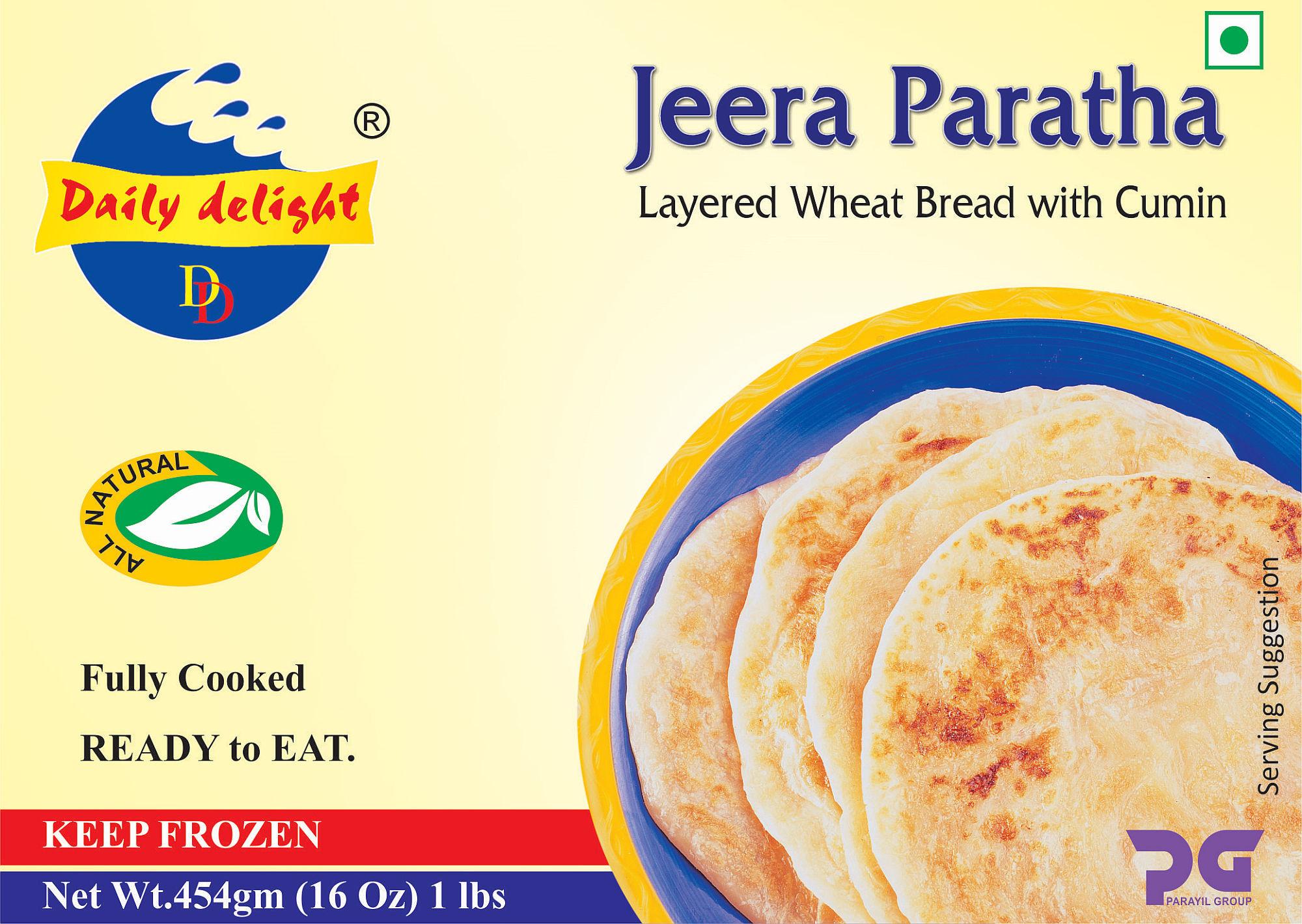 Daily Delight Jeera Paratha