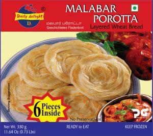 Daily Delight Malabar Porotta 330 Gms