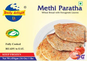 Daily Delight Methi Paratha 454 Gms