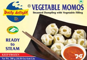 Daily Delight Momos Vegetable