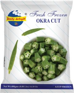 Daily Delight Okra Cut
