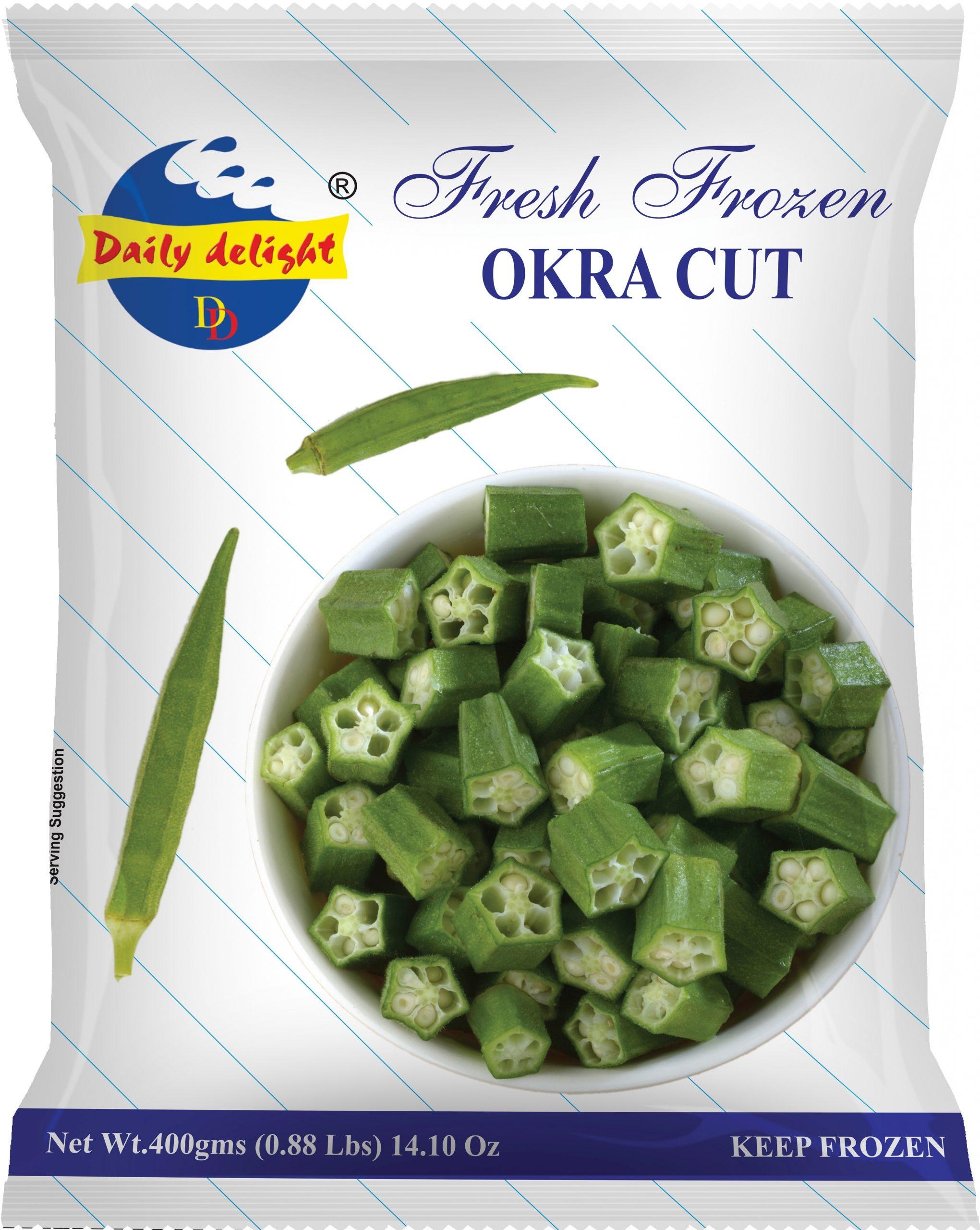 Daily Delight Okra Cut