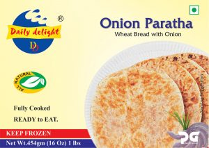 Daily Delight Onion Paratha