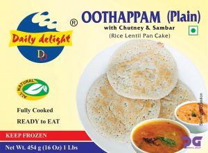 Daily Delight Oothappam Plain