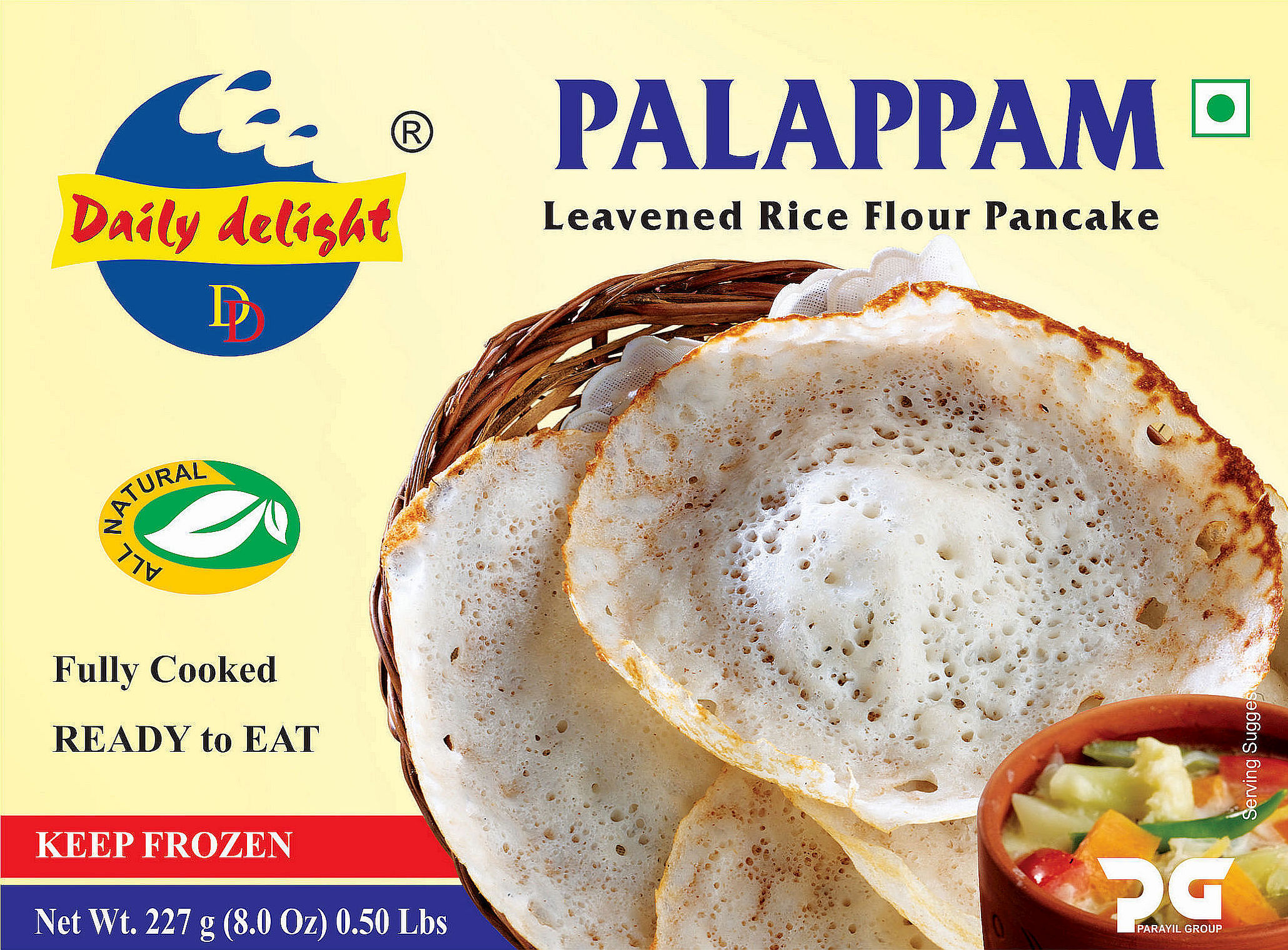 Daily Delight Palappam