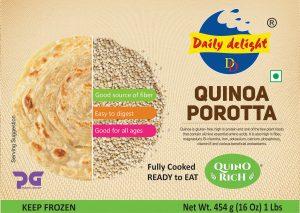 Daily Delight Quinoa Porotta