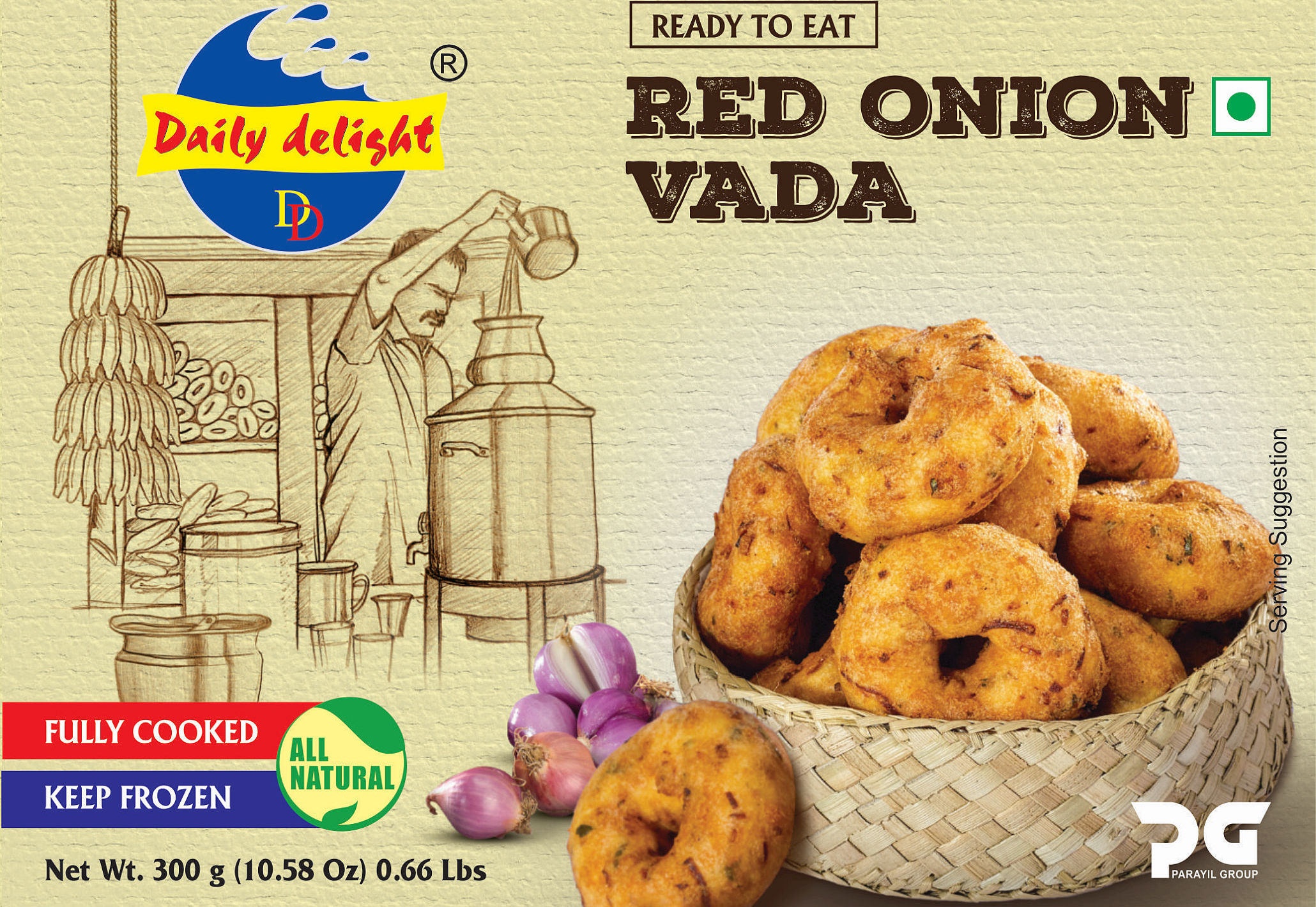 Daily Delight Red Onion Vada