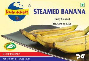 Daily Delight Steamed Banana