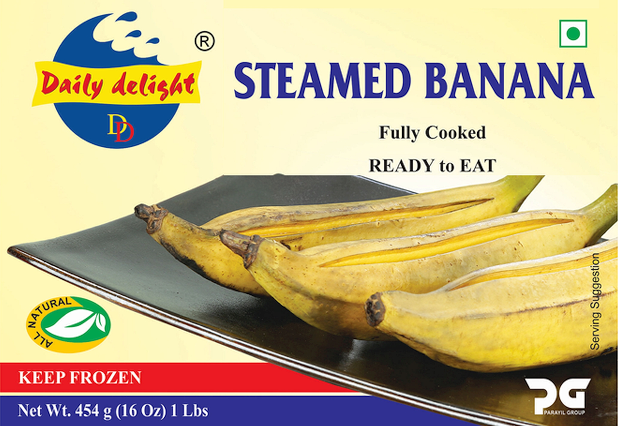 Daily Delight Steamed Banana
