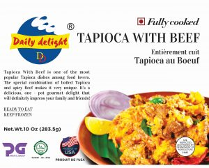 Daily Delight Tapioca with Beef