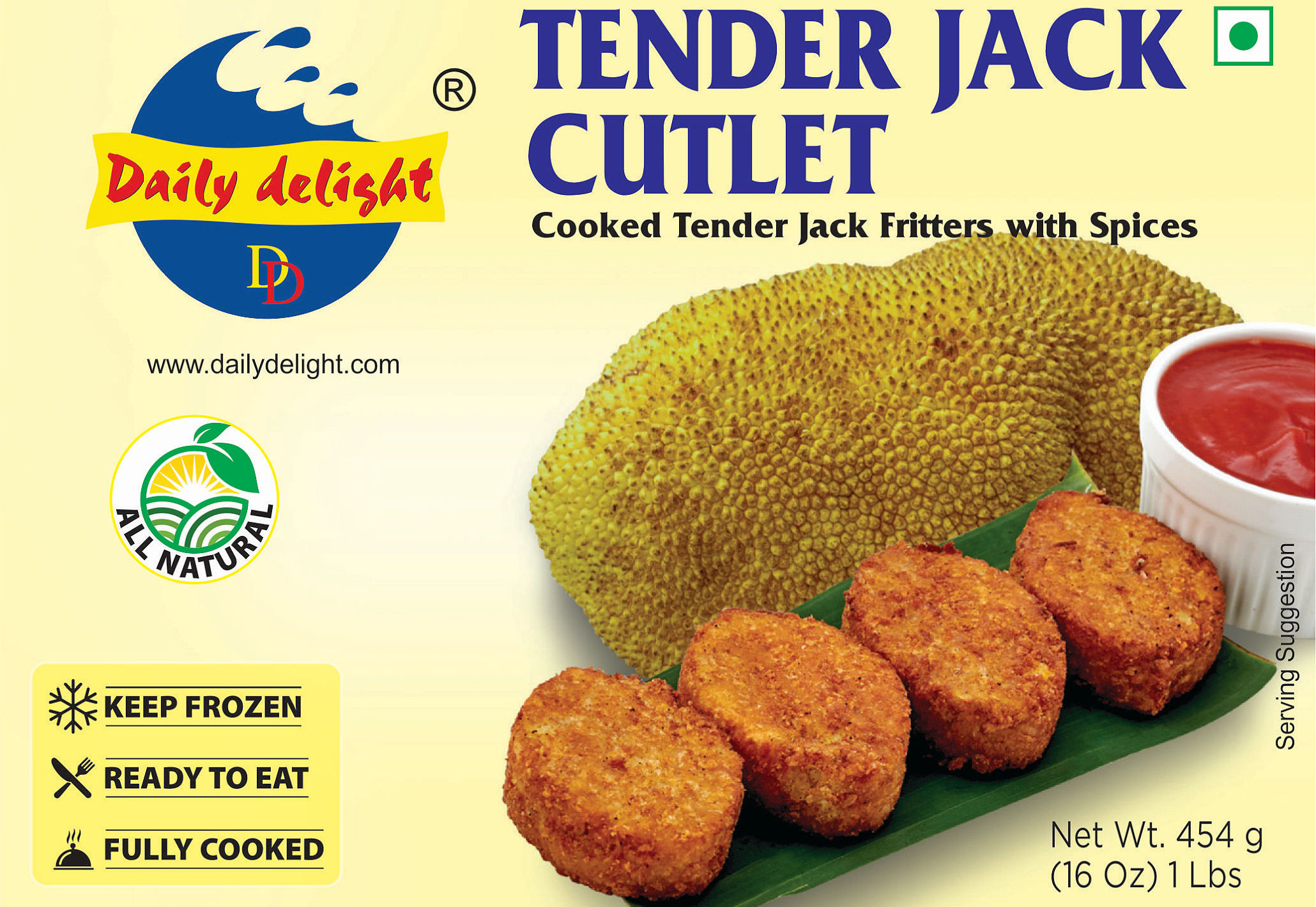 Daily Delight Tender Jack Cutlet