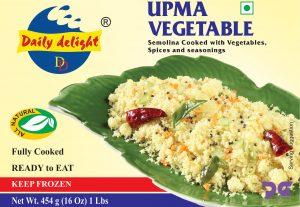 Daily Delight Upma Vegetable