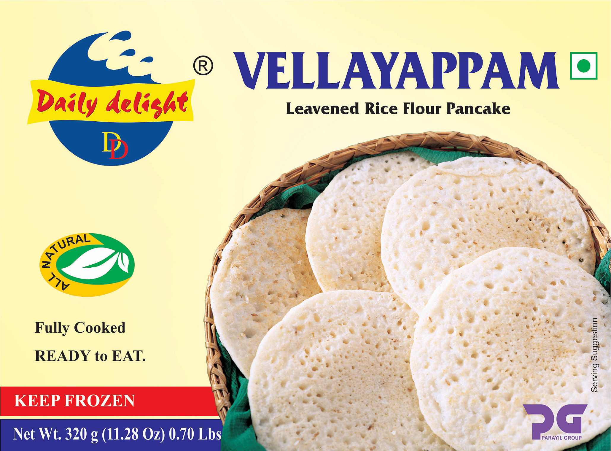 Daily Delight Vellayappam