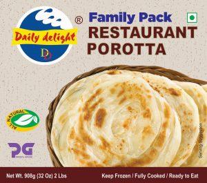 Daily Delight Family Pack Restaurant Porotta 908