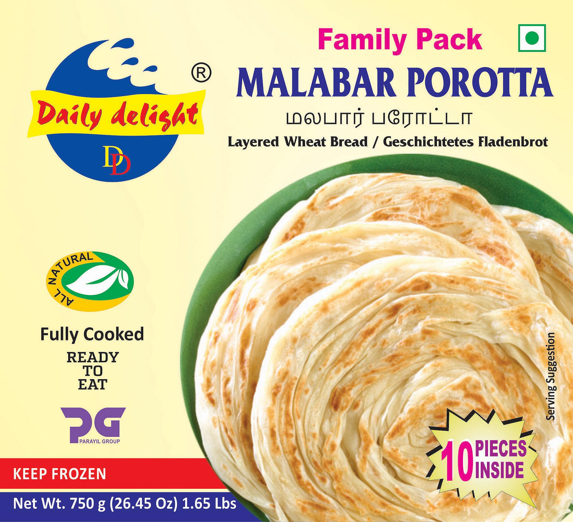 Daily Delight Porotta Malabar